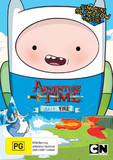 Adventure Time: Collection 9 - Frost & Fire With Mini Finn Slamacow DVD