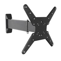 "Brateck Aluminum Slim Sliding Full-Motion TV Wall Mount For 23""-55"" LED, LCD Flat Panel"