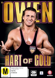 WWE - Owen: Hart Of Gold on DVD