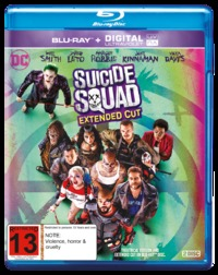 Suicide Squad (2 Disc Extended Edition) on Blu-ray
