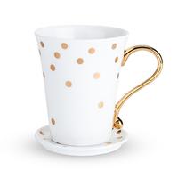 Twine: Country Cottage - Ceramic Mug & Saucer (Polka Dot)