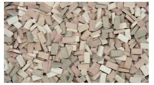1:35 bricks (RF) terracotta mix (1,000 pcs.)
