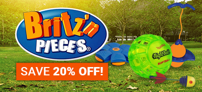 20% off Britz n Pieces!