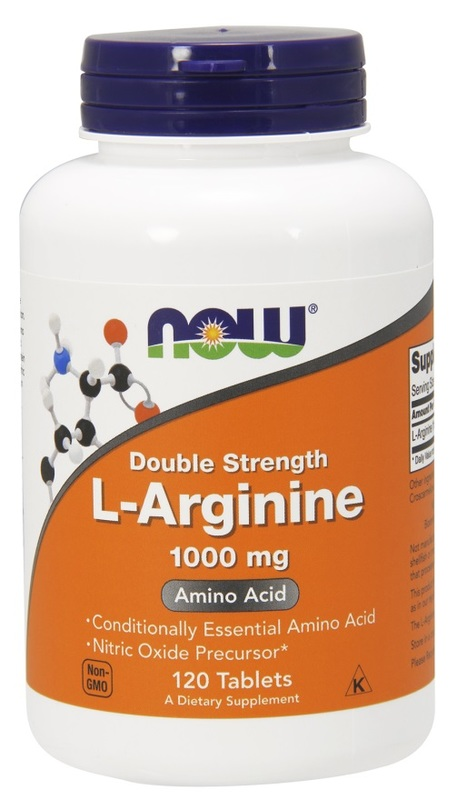 Now Foods: L-Arginine Double Strength (1000 mg)