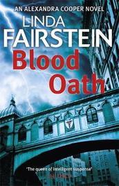 Blood Oath by Linda Fairstein
