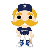 MLB - Bernie The Brewer Team Mascot Pop! Vinyl Figure image