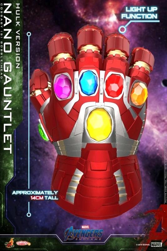Avengers: Endgame - Nano Gauntlet Hulk (Light Up) Cosbaby Figure