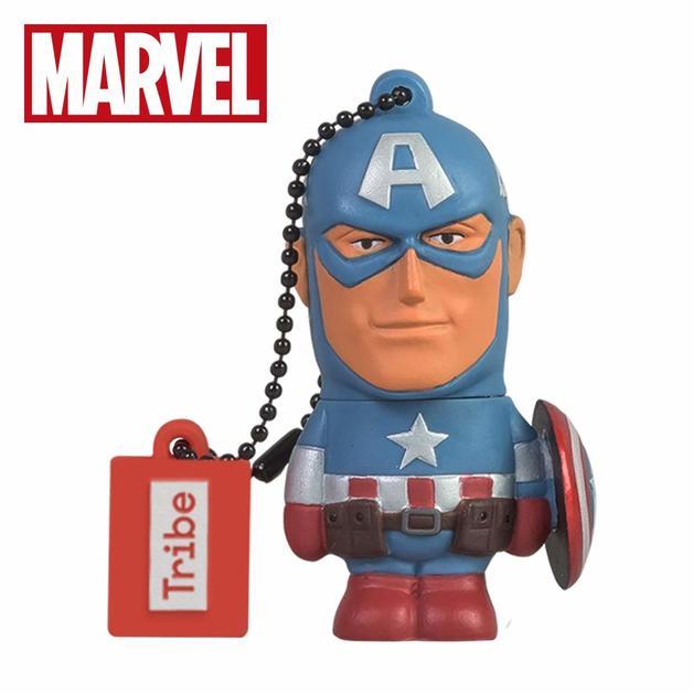 Tribe 16GB USB Flash Drive - Captain America