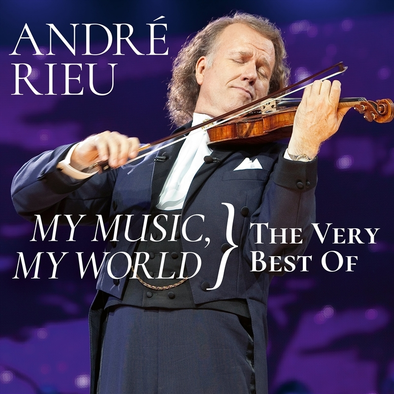 My Music, My World The Very Best Of (2CD) by André Rieu image