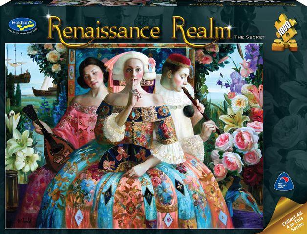 Holdson: 1000 Piece Puzzle - Renaissance Realm S2 (The Secret)