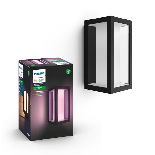 Philips: Hue Outdoor Impress Wall Lantern - Black