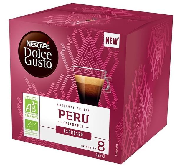 Nescafe: Dolce Gusto Espresso - Peru (3 x 12 Pack)