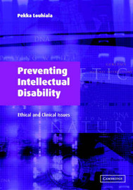 Preventing Intellectual Disability by Pekka Louhiala image
