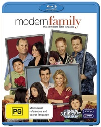 Modern Family - The Complete First Season on Blu-ray