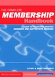 The Complete Membership Handbook by Liz Hill image