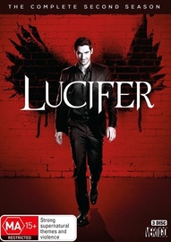 Lucifer - Season 2 on DVD image
