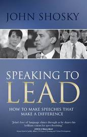 Speaking to Lead by John Shosky image