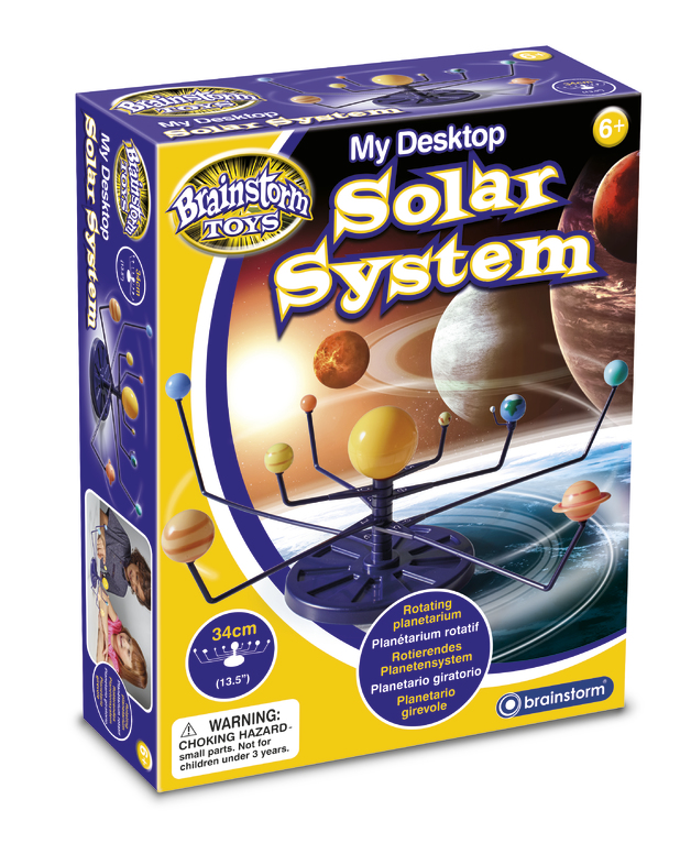 Brainstorm Toys: My Desktop Solar System - Science Kit