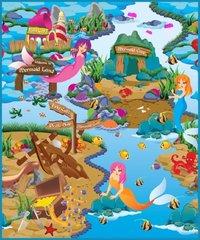 Rollmatz: Large Playmat - Mermaid Land