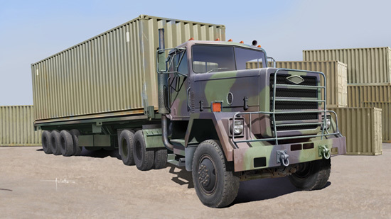 Trumpeter: M915 Truck - 1/35 Scale Model Kit
