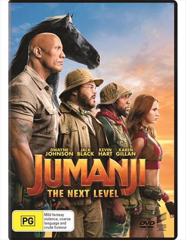 Jumanji: The Next Level on DVD