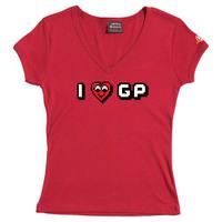 I Heart GP - Female V-Neck Tee (Red) for  image