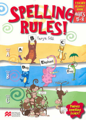 Spelling Rules! by Pearson
