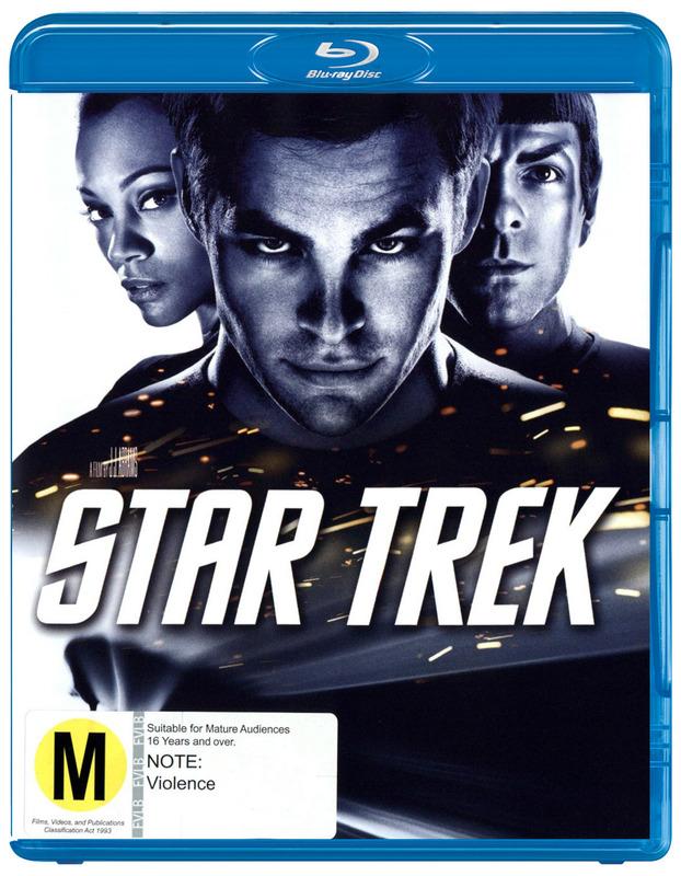 Star Trek XI on Blu-ray