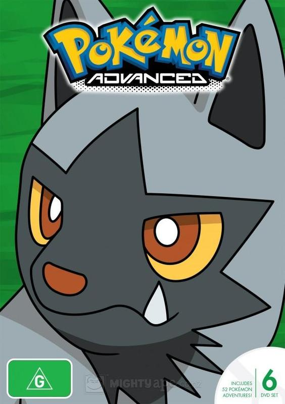Pokemon - Season 6: Advanced on DVD