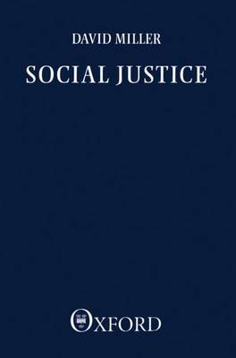 Social Justice by David Miller image