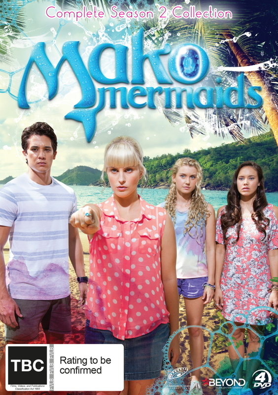 Mako Mermaids: Season 2 Complete Collection on DVD