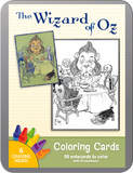 Pomegranate - Wizard Of Oz Colouring Cards