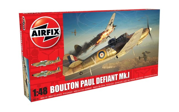 Airfix Boulton Paul Defiant Mk1 1:48 Scale Model Kit