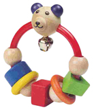 Wooden First Rattle