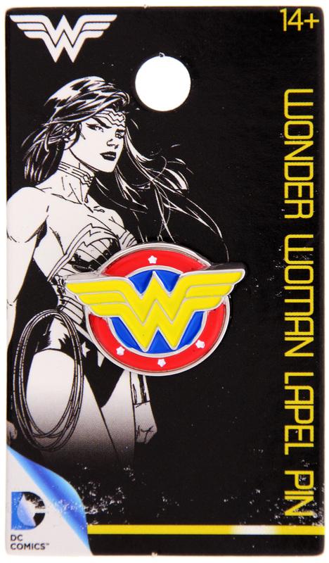Wonder Woman - Logo Colour Enamel Lapel Pin