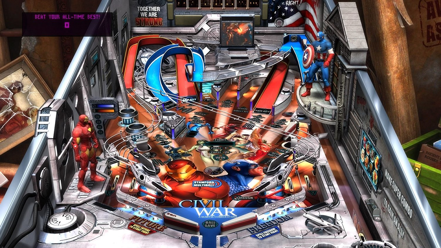 marvel pinball epic collection volume 1 ps4 buy now at mighty ape nz. Black Bedroom Furniture Sets. Home Design Ideas