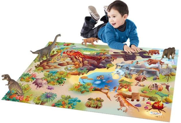 Dinosaur Playmat with Dinosaurs