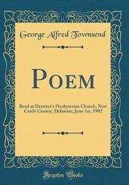 Poem by George Alfred Townsend image