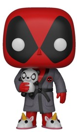 Deadpool: Playtime Bathrobe - Pop! Vinyl Figure