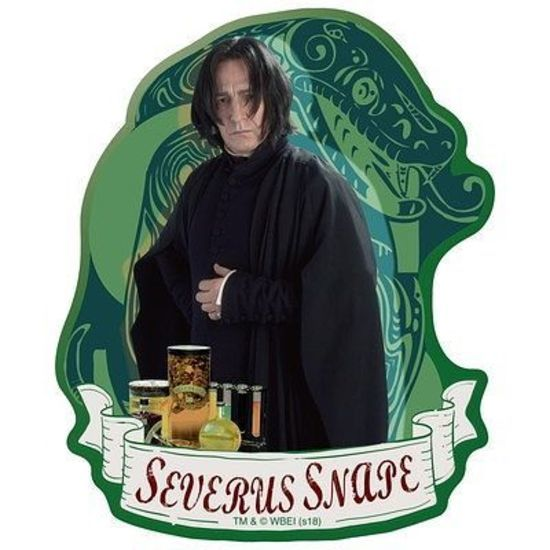 Harry Potter: Travel Sticker 4 Severus Snape