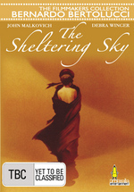 The Sheltering Sky on DVD