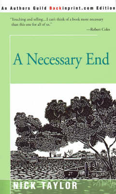 A Necessary End by Nick Taylor image