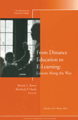 From Distance Education to e-Learning by Beverly L. Bower image