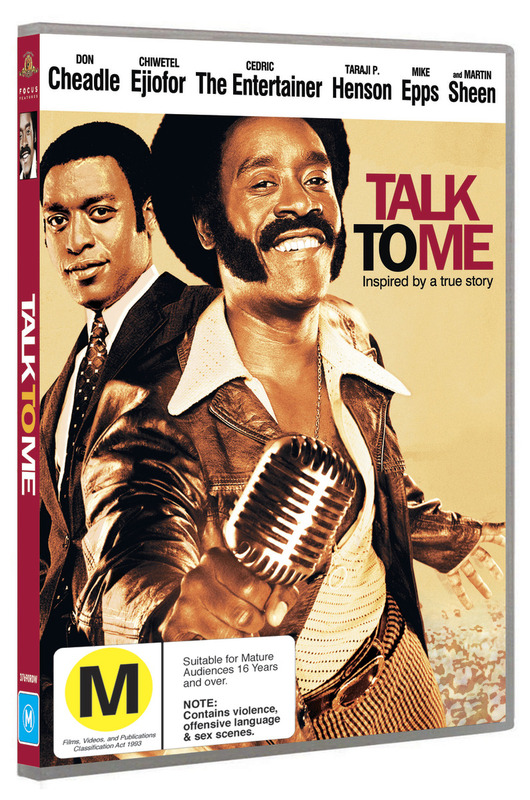 Talk to Me on DVD