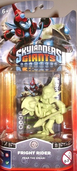 Skylanders Giants Character Single pack - Fright Rider Glow In The Dark (All Formats) for Wii