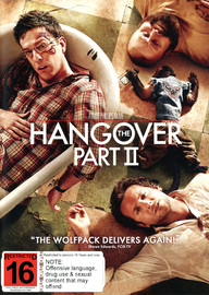 The Hangover Part II on DVD