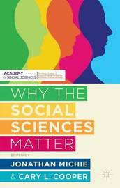 Why the Social Sciences Matter by Cary Cooper image
