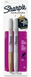Sharpie: Fine Tip Metallic Permanent Marker - 2 Pack