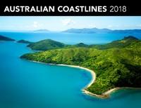 Australian Coastlines 2018 Horizontal Wall Calendar