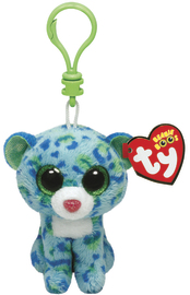 Ty Beanie Boo's - Clip On Blue Leopard